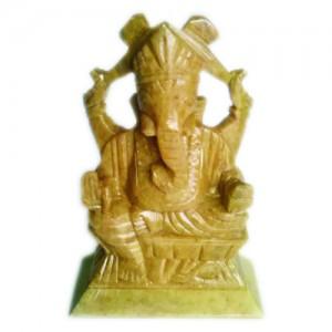 Green-stone-Ganesha-55